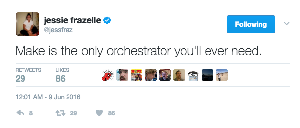 Make is the only orchestrator you'll ever need.