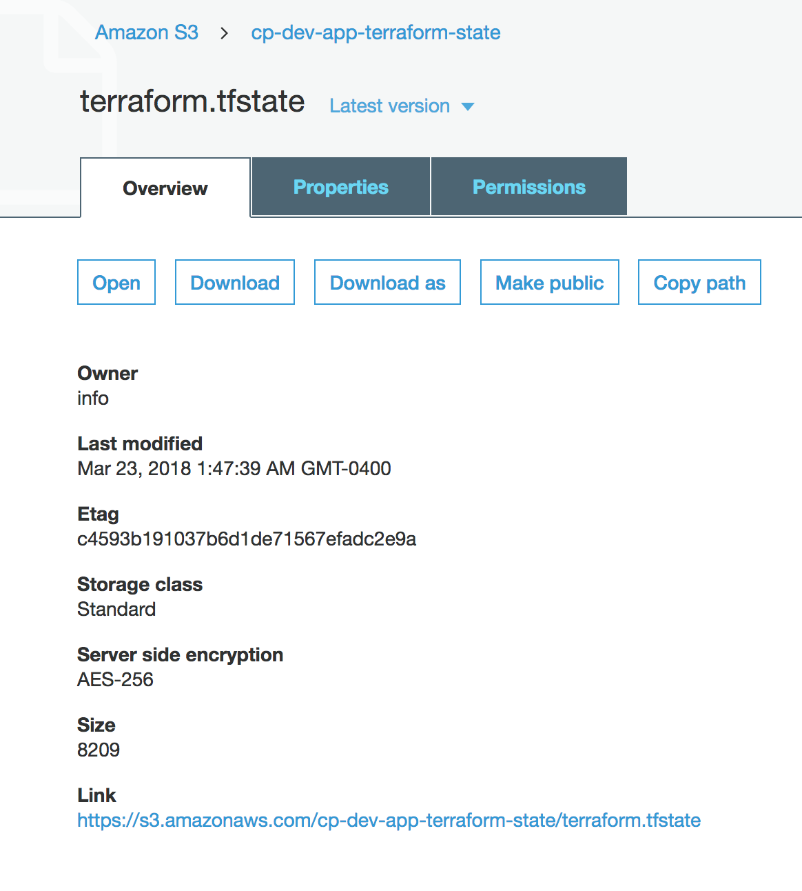 terraform-aws-tfstate-backend — Cloud Posse Developer Hub